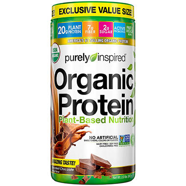 Purely Inspired Organic Protein 100% Plant-Based Nutritional Shake ...