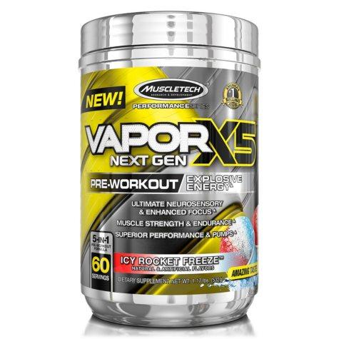 MuscleTech VaporX5 Next Gen Pre-Workout Icy Rocket Freeze