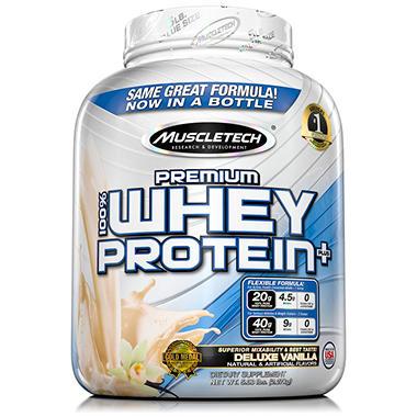 MuscleTech Premium 100% Whey Protein, Vanilla (5 lbs.)