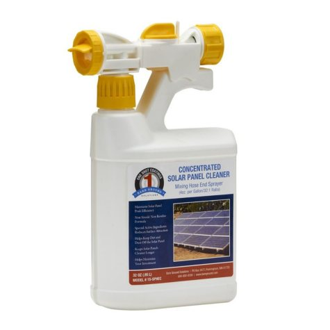1 Shot Solar Panel Cleaner Concentrate by Bare Ground