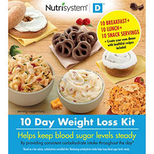 Nutrisystem D 10 Day Weight Loss Kit