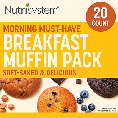 Nutrisystem Breakfast Muffin Pack