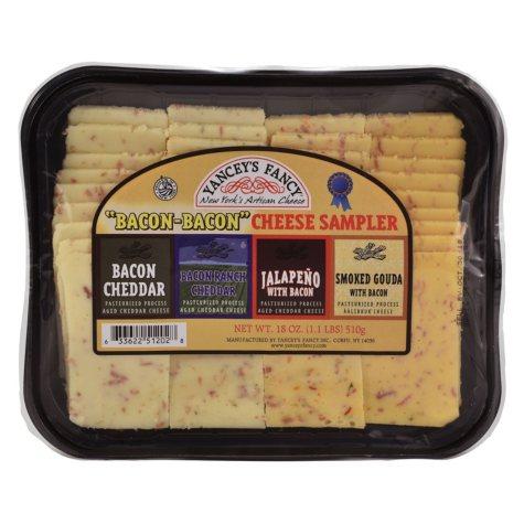 Yancey's Fancy Bacon-Bacon Cheese Sampler (18 oz.)