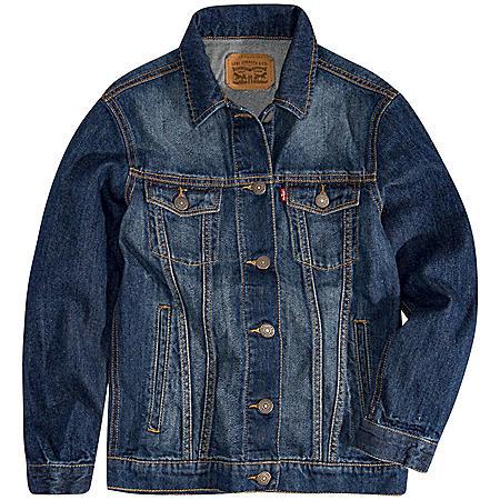 Levi's® Boys' Lightweight Denim Trucker Jacket