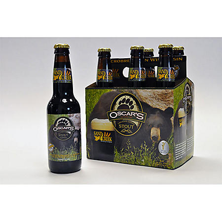 Sand Creek Oscar's Chocolate Oatmeal Stout (12 fl. oz. bottle, 6 pk.)