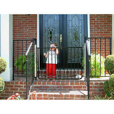 Charming Cardinal Gates Stairway Special Safety Gate, Black