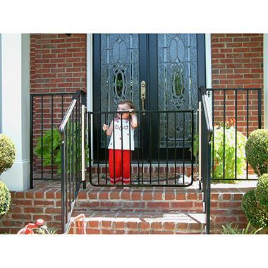 Merveilleux Cardinal Gates Stairway Special Safety Gate, Black