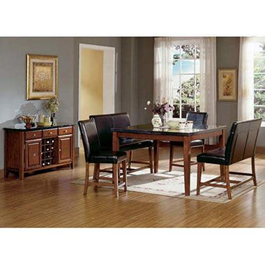 Mattoni Granite Counter Height Table