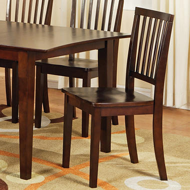 Ava Side Chairs - Espresso - 2 pk.