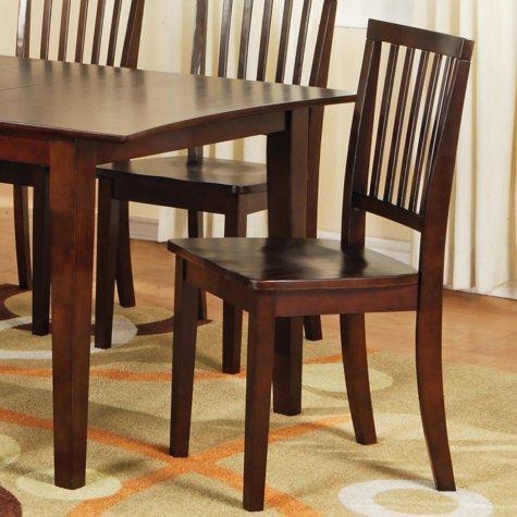 Ava Side Chairs - Espresso - 2 pk.
