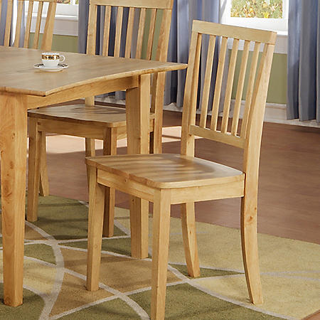 AVA SIDE CHAIR, NAT BR300SN