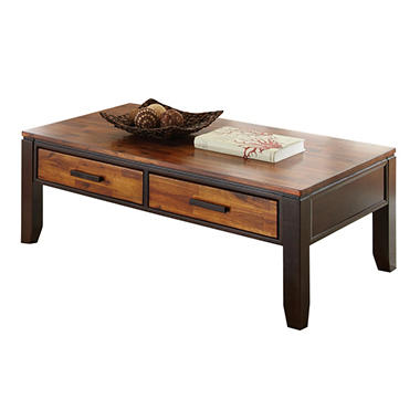 Best Seller Pierson Coffee Table Living Room Tables  Sam s Club