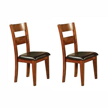 Weston Side Chairs   Mango (2 Pk.)