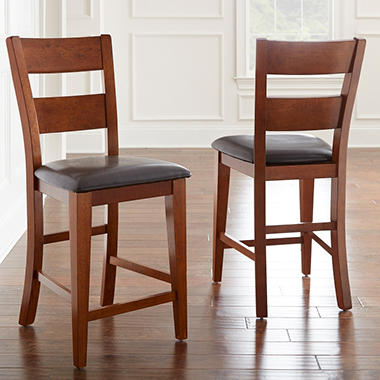 Superb Weston Counter Height Chairs   Mango (2 Pk.)