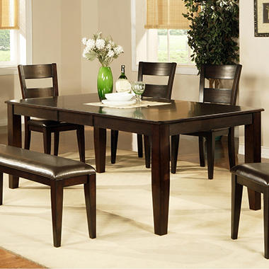Weston Dining Table Espresso Sam S Club