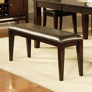Weston Dining Bench -  Espresso