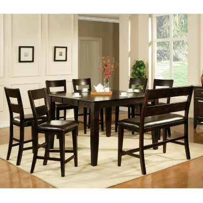 Weston Counter Height Table - Espresso & Sam\u0027s Club - Dining Room Furniture