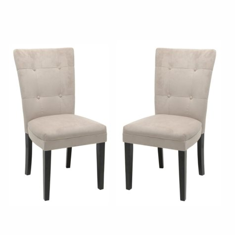 Midtown Beige Parsons Chairs (2 pk.)