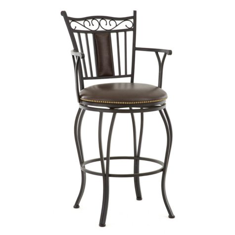 Braden Commercial Grade Swivel Bar Stool