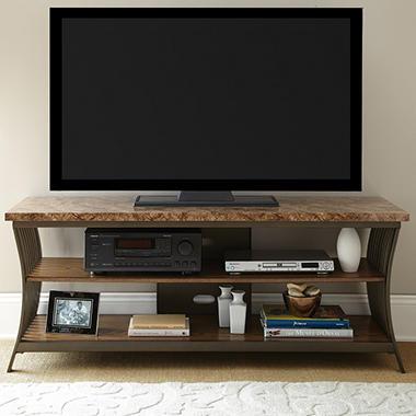 canyon tv console sam 39 s club. Black Bedroom Furniture Sets. Home Design Ideas