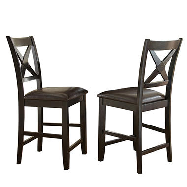 Victor Counter Height Chairs, Set Of 2