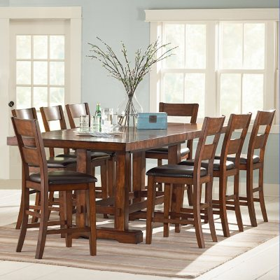 Ziva CounterHeight Dining 9Piece Set Sams Club