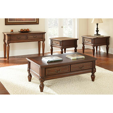 4-Piece Darien Occasional Table Set  sc 1 st  Samu0027s Club : occasional table sets - pezcame.com
