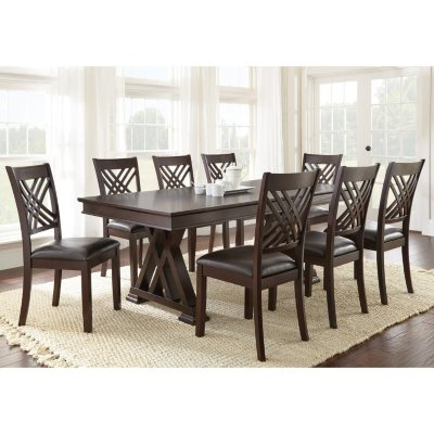 Avalon Dining Table and Chairs 9Piece Set Sams Club