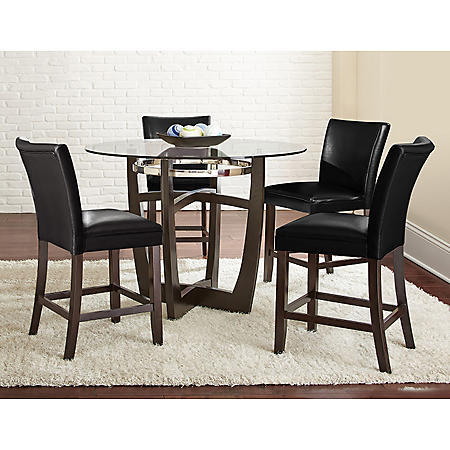 Midtown Counter-Height Table and Chairs, 5-Piece Dining Set