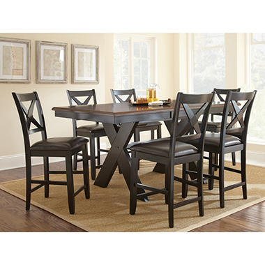 Victor Counter-Height 7-Piece Dining Set - Sam\'s Club