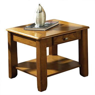 Logan Oak End Table Sams Club