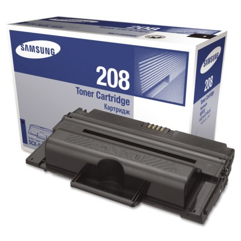 Samsung - MLTD208S Toner, 4000 Page-Yield -  Black