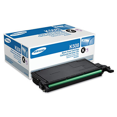 Samsung - CLTK508S Toner, 2,500 Page-Yield -  Black