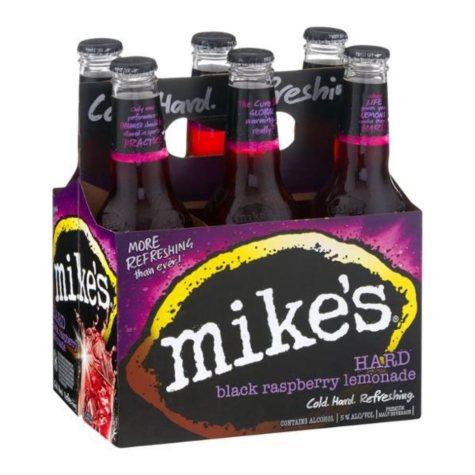Mike's Hard Black Raspberry Lemonade (11.2 fl. oz. bottle, 6 pk.)