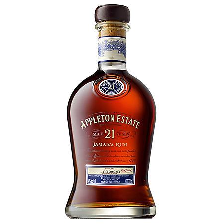 Appleton Estate 21-Year-Old Jamaica Rum (750 ml)