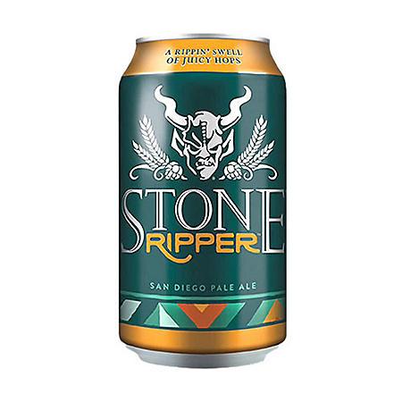 Stone Brewing Ripper Pale Ale (12 fl. oz. can, 6 pk.)