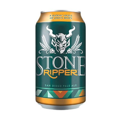 Stone Brewing Ripper Pale Ale (12 fl. oz. can, 6 pk.)
