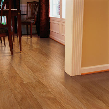 Hickory Laminate Flooring fairfax hickory laminate in belle haven Inspired Elegance By Mohawk Amaretto Hickory Laminate Flooring