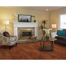 Inspired Elegance by Mohawk Cider Hickory Laminate Flooring