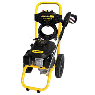 STANLEY 2800 PSI, 2.3 GPM Gas Pressure Washer Powered by STANLEY