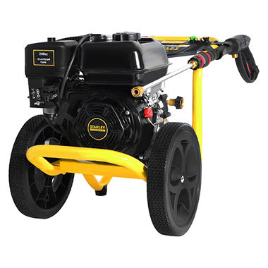 STANLEY FATMAX 3400 PSI, 2.5 GPM Gas Pressure Washer Powered by STANLEY