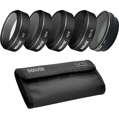 Bower Sky Capture Series Five-Piece Filter Kit for Phantom 4 Pro/Phantom 4 Advanced