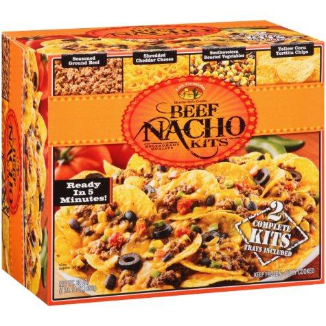 Las Grande Beef Nacho Kits - 30 oz.