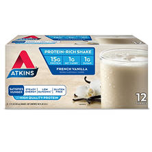Atkins French Vanilla Ready to Drink Shake (12 pk.)