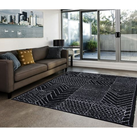 Hand-Knotted 6' x 9' Area Rug, Beige