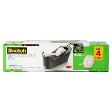 Scotch Desktop Tape Dispenser Value Pack