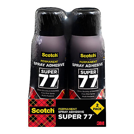Scotch Multi-Purpose Adhesive, 10.7 oz, 2 Pack