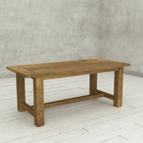Catalonia 78 Reclaimed Wood Dining Table