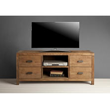 Knightsbridge Reclaimed Wood 58 Inch TV Stand