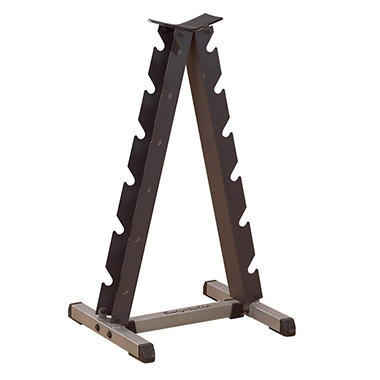 Body Solid Tools Vertical Dumbell Rack